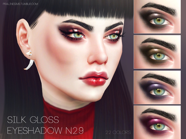 Silk Gloss Eyeshadow N29 by Pralinesims