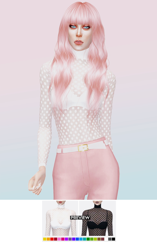 polka dot bodysuit by its-leeloo