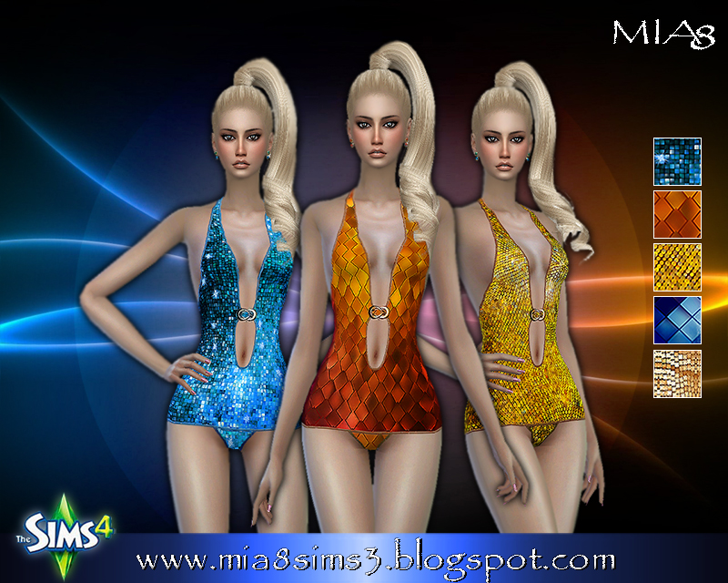 Womens bathing suit (5 options) by Mia8