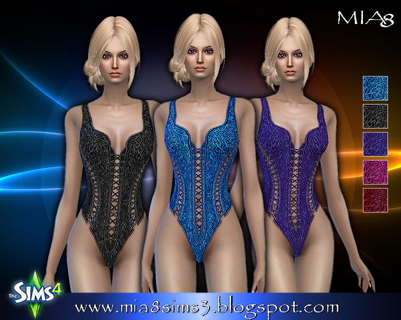 Womens corset (5 colors) by Mia8