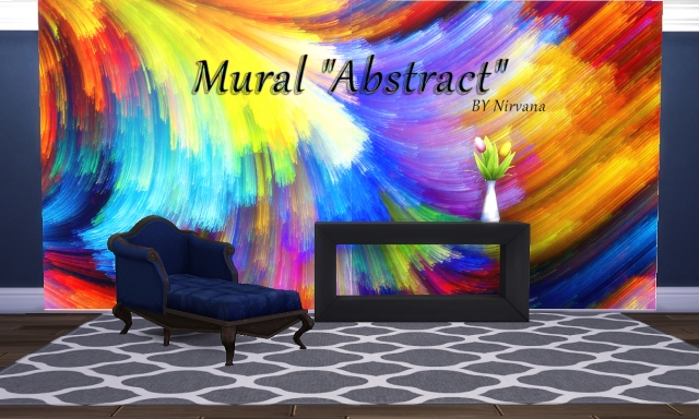 "Mural ""Abstract"" Part 1 BY Nirvana"