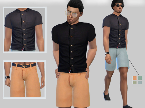 Summer Outfits For Male by Puresim