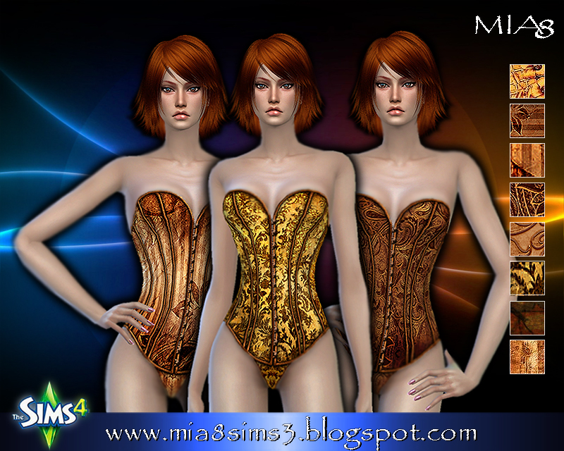 Womens Lingerie (8 different textures) by Mia8