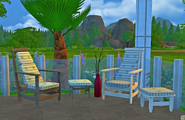 TS3 Lounge Set by JosieSimblr
