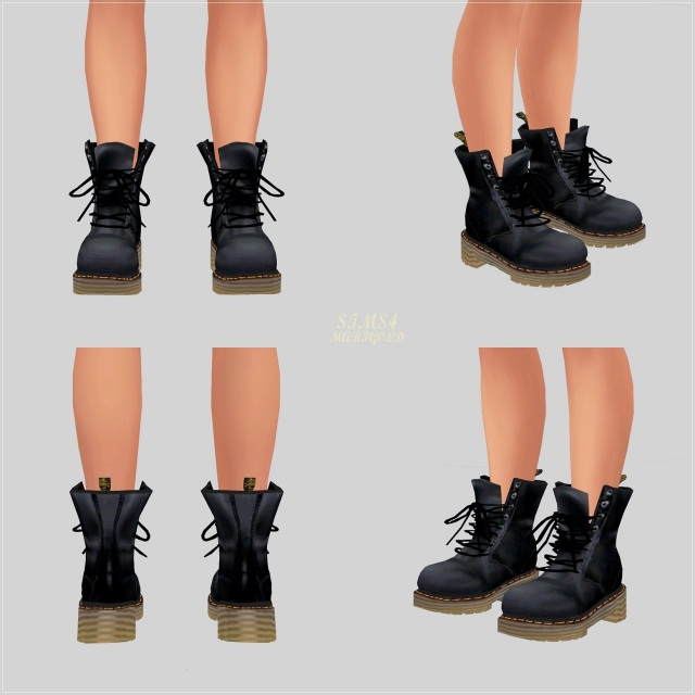 Male Combat Boots by Marigold