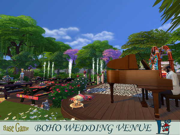 Bohemian Wedding Venue by evi