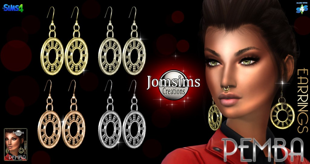 Pemba earrings by JomSims