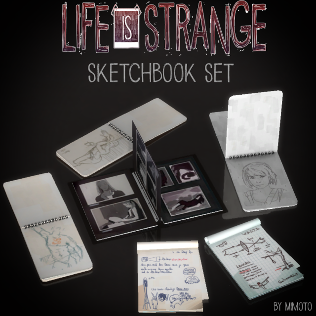Life is Strange: SketchBook Set by Mimoto