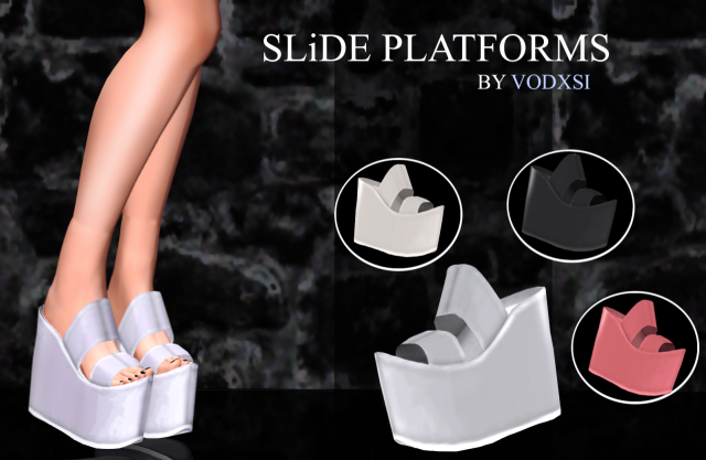 SLiDE Platforms by Simplyiridescentsims