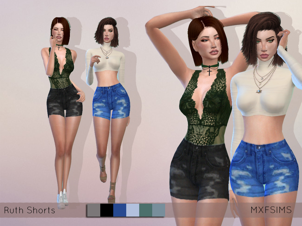 Shorts by MXFSims