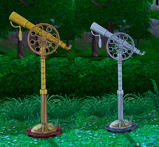 Steampunk Telescope by soloriya