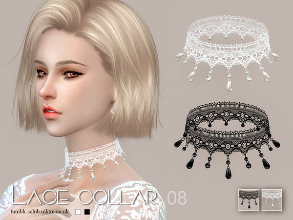 S-Club LL ts4 Lace collar 08