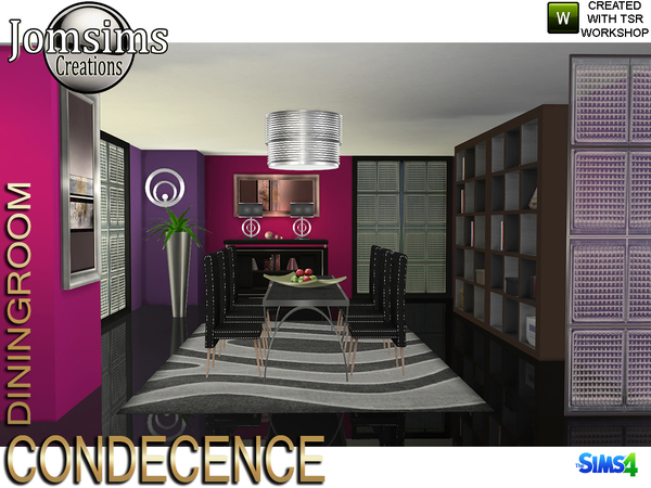 Condecence dining room by jomsims
