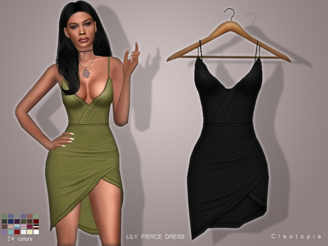 LILY PIERCE DRESS by Cleotopia