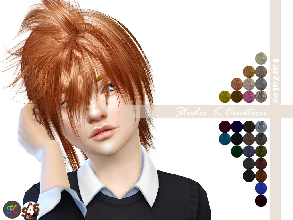 Animate hair 63 - KUGA-kids by Karzalee