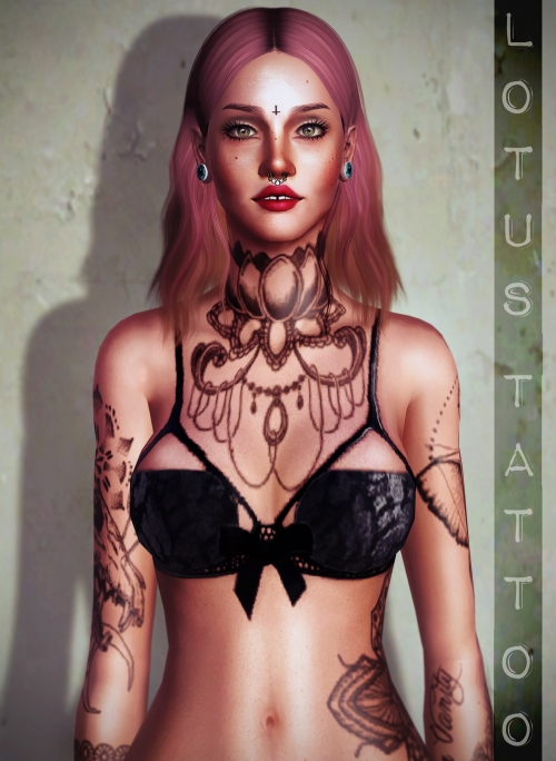 Lotus Tattoo by MISIWOUSIMS