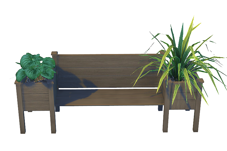 Outdoor Wood Pallet Benches, Coffee Table and Chair Set by Daer0n