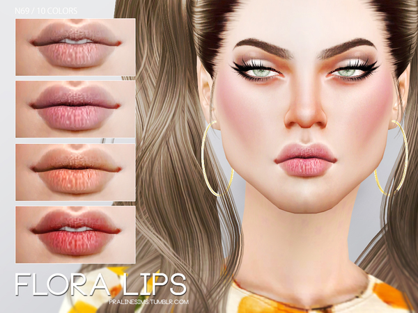 Flora Lips N69 by Pralinesims
