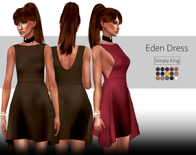 Eden Dress by Simply King