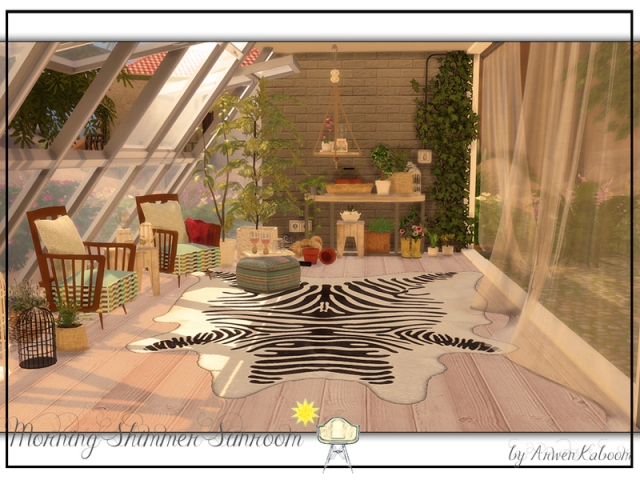 Morning Shimmer Sunroom by ArwenKaboom