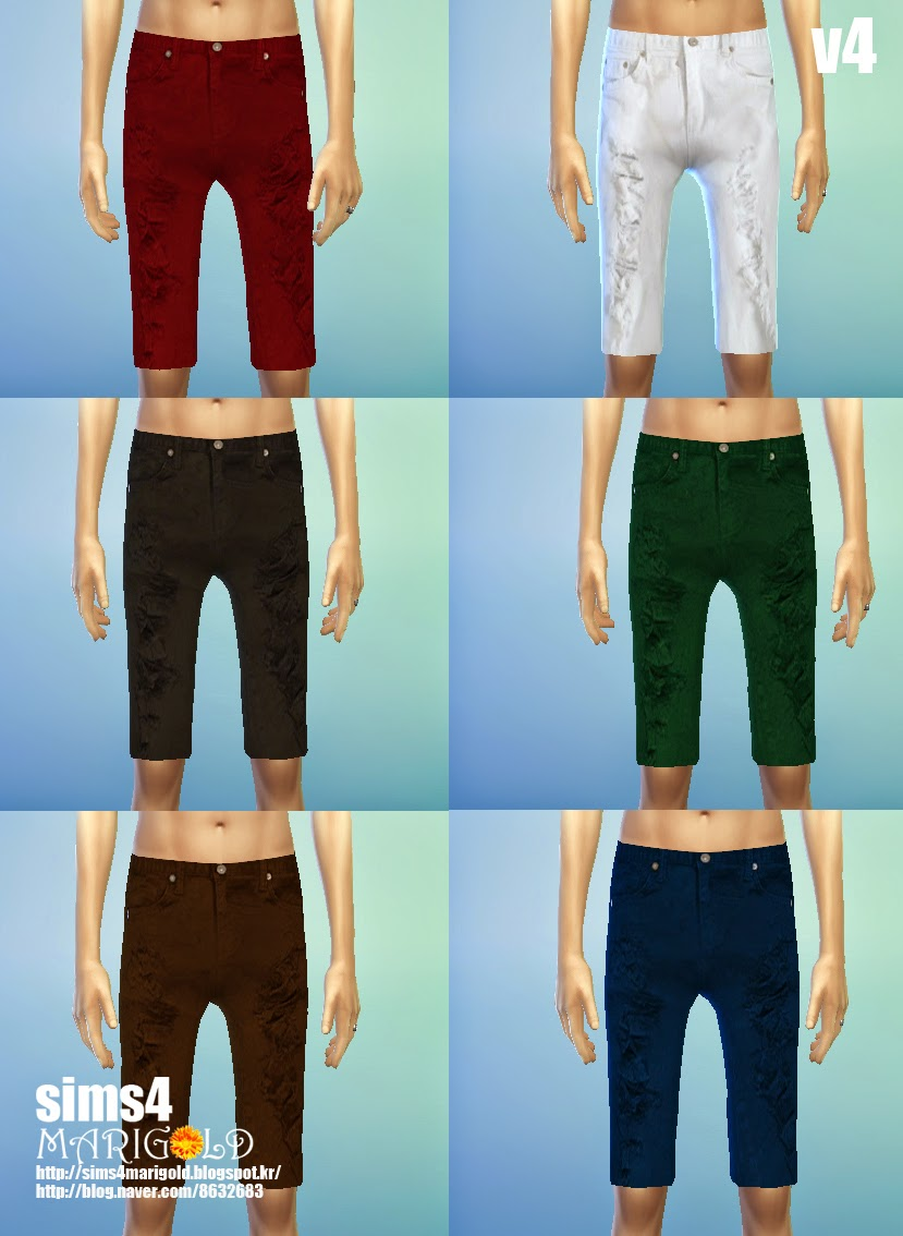 male knee shorts SET by marigold