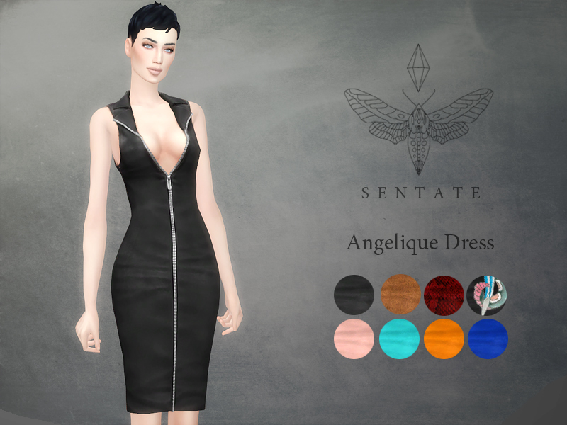Angelique Dress by Sentate