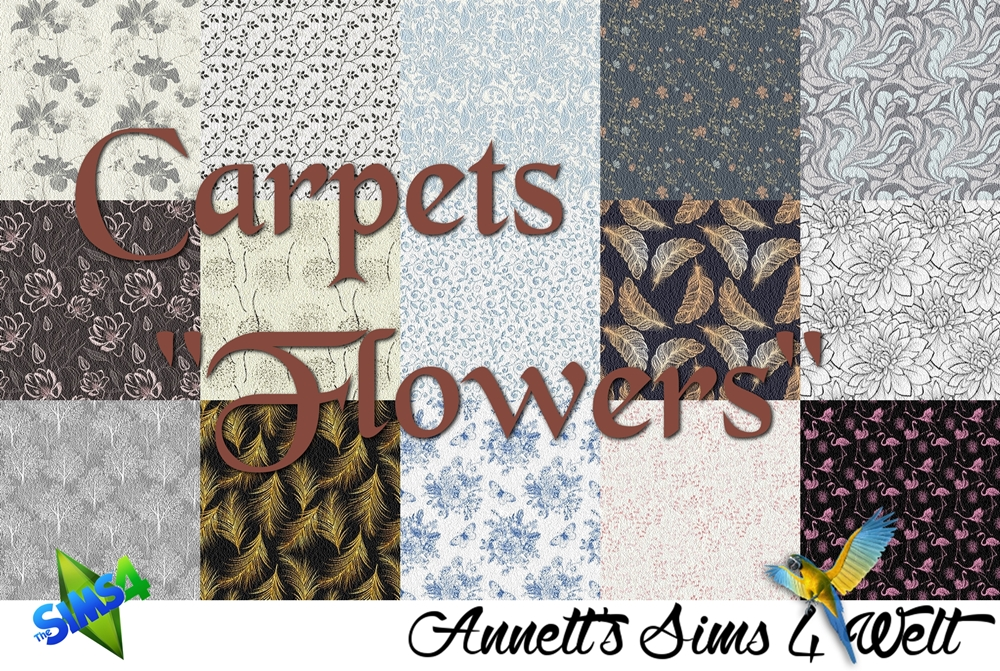 "Carpets ""Flowers"" by Annett85"
