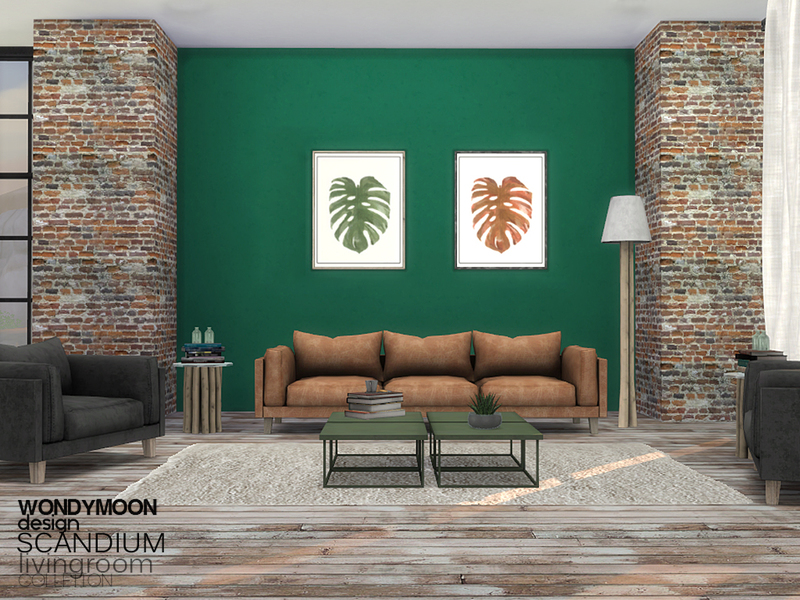 Scandium Livingroom by wondymoon