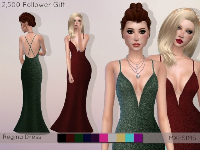 Regina Dress by mxfsims
