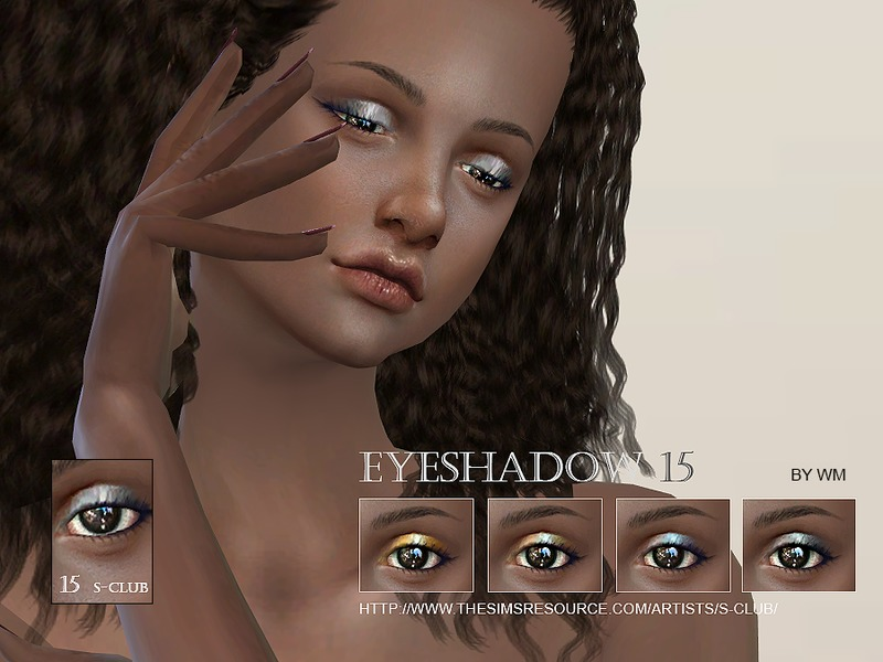 S-Club WM thesims4 Eyeshadow 15