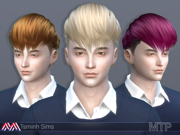 MTP (Hair 14) by TsminhSims