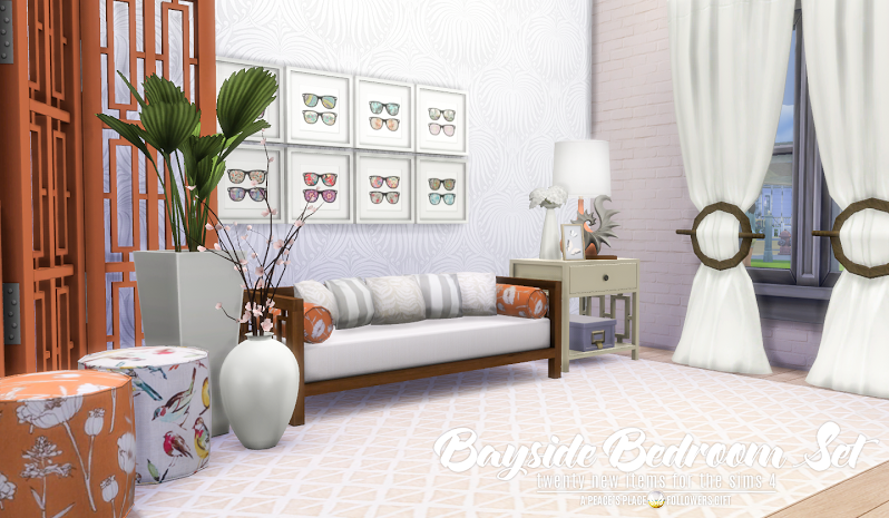 UPDATED - Bayside Bedroom Set by Peacemaker ic