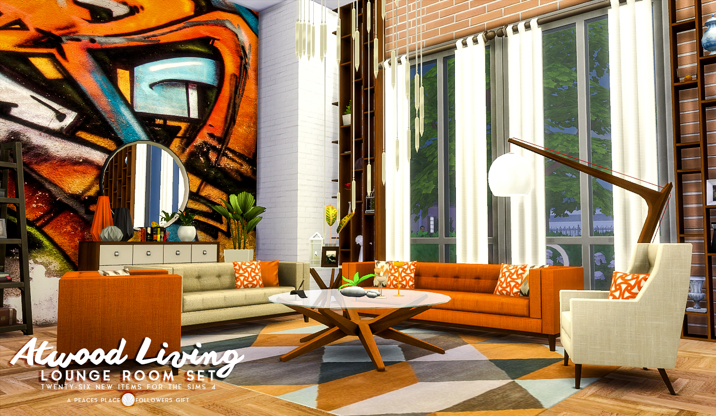 Updated Atwood Living - Lounge Room Set by Peacemaker ic