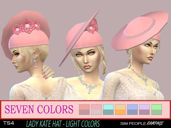 SPRampage Lady Cate - Light Colors by SimPeopleRampage