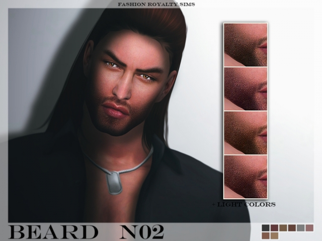 Beard N02 by fashionroyaltysims