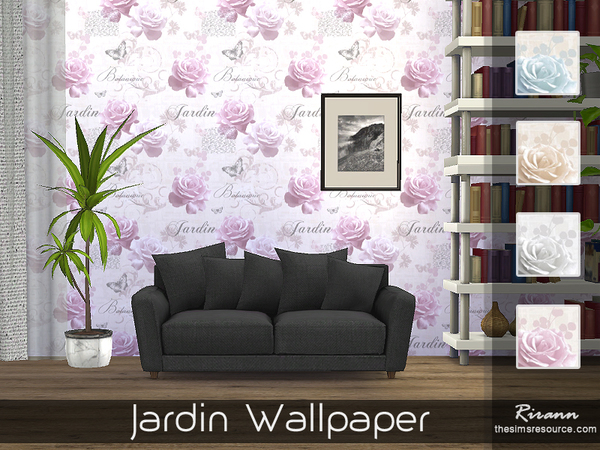 Jardin Wallpaper by Rirann