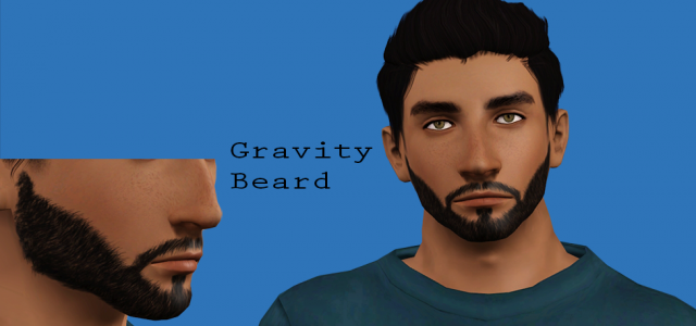 Gravity Beard by enlessleigh