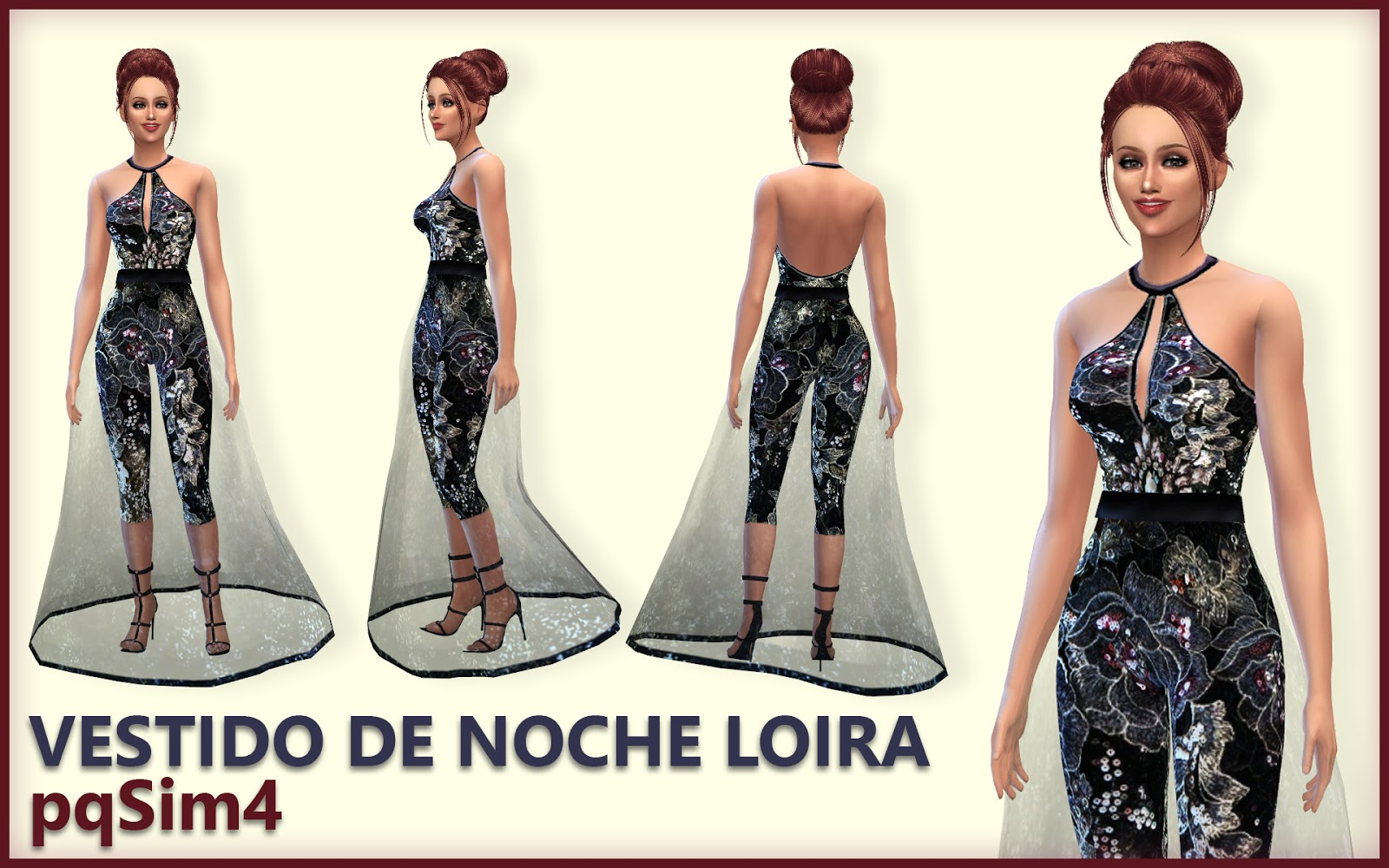 Loira Dress by pqSim4