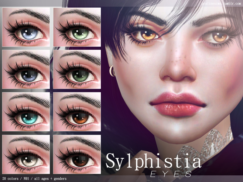Sylphistia Eyes N91 by Pralinesims