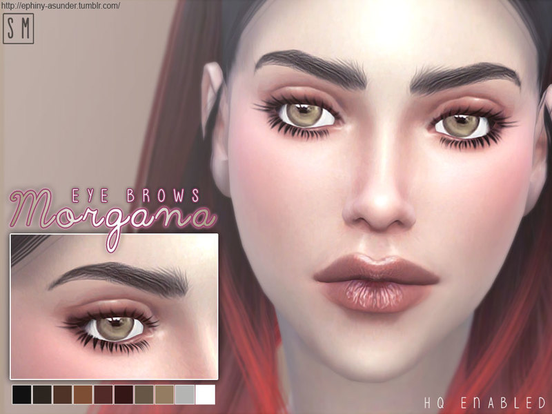 [ Morgana ] Eyebrows by Screaming Mustard