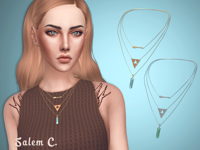 Arrow Necklace by Salem C