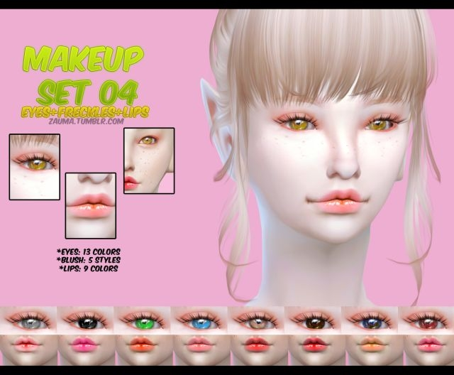 MakeUp Set N04 by Zauma