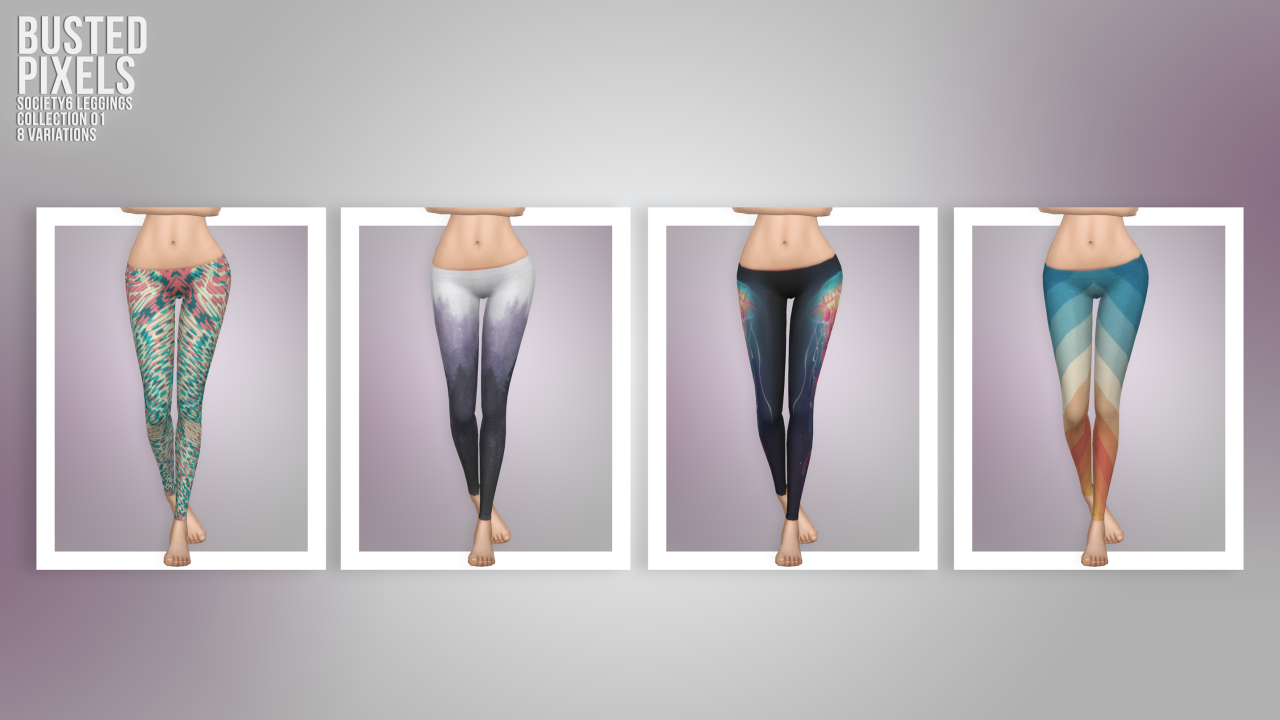 Society 6 Leggings by BustedPixels