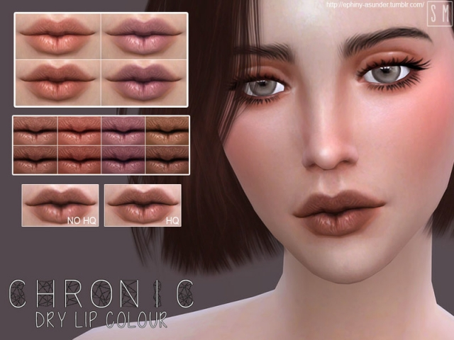 [ Chronic ] - Dry Lip Colour by Screaming Mustard