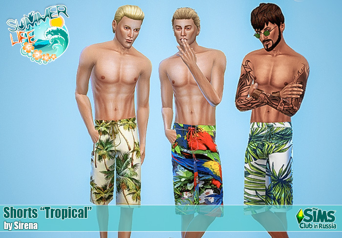 "Shorts ""Tropical"" by Sirena"