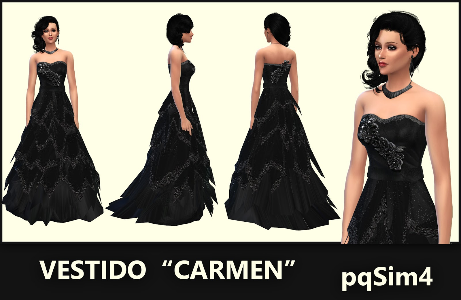 Carmen Dress by pqSim4
