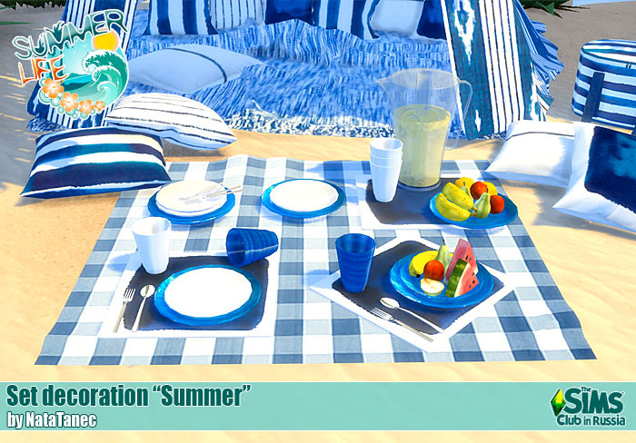 "Set decor ""Summer"" by natatanec"