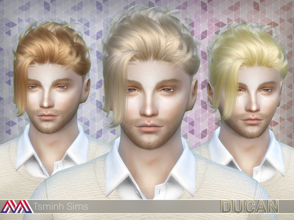 Ducan (Hair 15) by TsminhSims