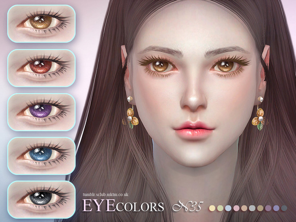 S-Club LL thesims4 Eyecolor 35