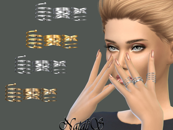 NataliS_Multi rings set 2